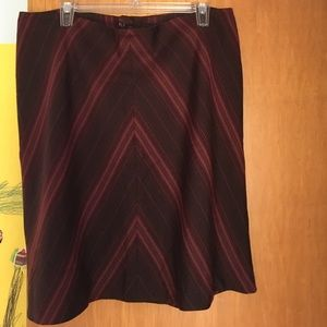 H&M Chevron Skirt