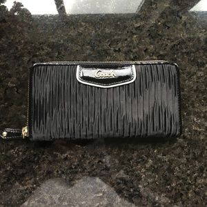 Coach Handbags - Black coach wallet