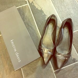Shoes - Pewter Flats