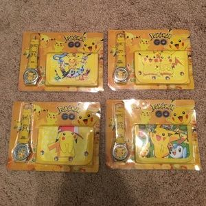 Pokemon Other - Boys set of Pokémon wallet and watch😄❤️