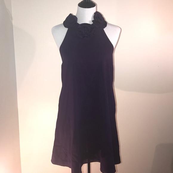 0f9c34b67c Alice   Olivia Silk Mini Halter Dress