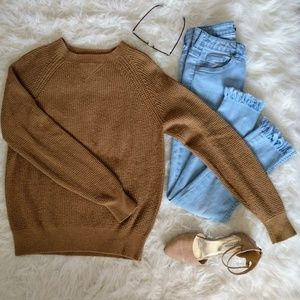 J. Crew Tan Sweater