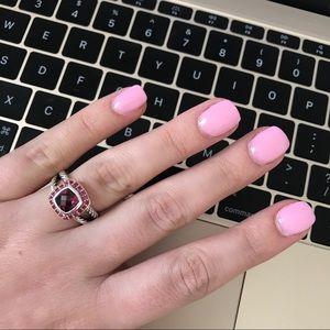 David Yurman Jewelry - David Yurman Rheodolite/Pink Sapphire Albion Ring