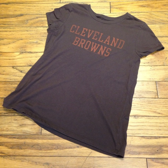old navy cleveland browns shirt