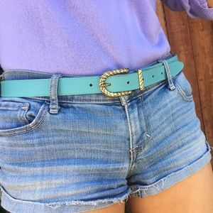 Accessories - Sky Blue Belt