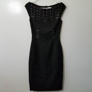 Karen Millen Dresses & Skirts - Karen Millen black tie up dress