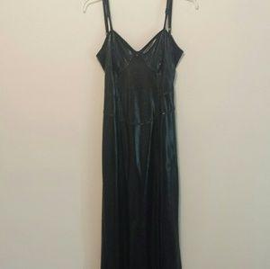 lip service Dresses & Skirts - Vintage 90s lip service pvc maxi dress