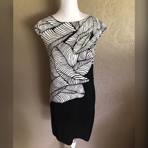 LOFT Sleeveless shift Sheath Dress Floral print