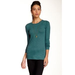 Abound Tops - Abound Green Long Sleeve