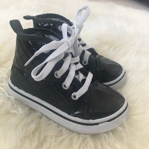 Girls Toddler GX Patent High top sneakers