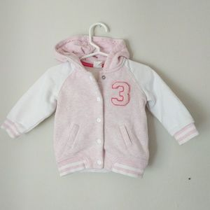H&M Other - H&M baby girl bomber jacket, 6-9M
