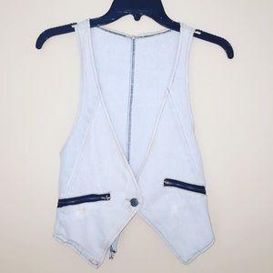 Trendy Jean Vest