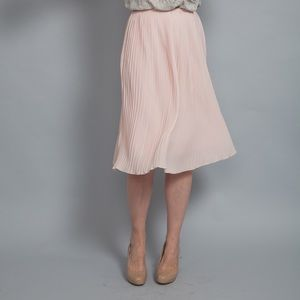 English Laundry Dresses & Skirts - English Laundry Pink Pleated Midi Skirt sz S