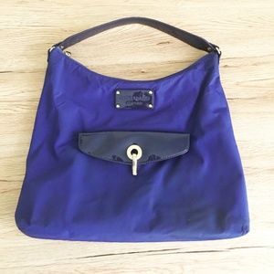 SALE Kate spade navy blue Patent leather bag