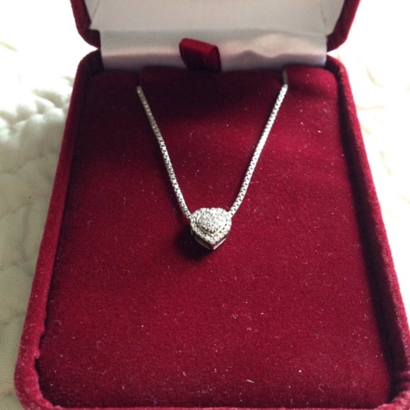 noble house jewelers pave shape pendant