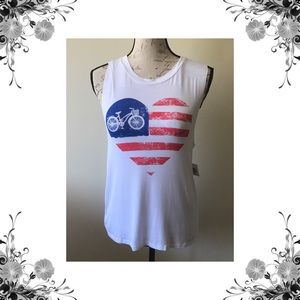Miss Chievous Tops - 🇺🇸 Patriotic Graphic Tank