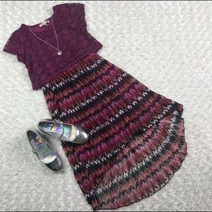Girls Size 10 Kids High Low Speechless Dress