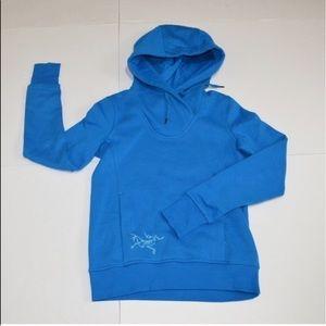 Arc'teryx Sweaters - New ARC'TERYX Pocket Fleece Hoody Blue Sweater