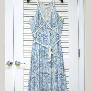 Eros Dresses & Skirts - NWT LoveStitch Seafoam Snake print Maxi