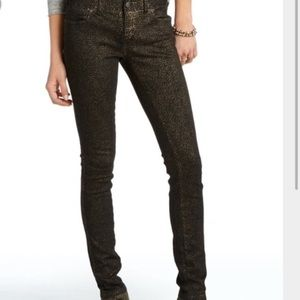 Free People Denim - Free people cheetah print jeans