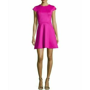 Ted Baker London Dresses & Skirts - Ted Baker London Cap Sleeve Seamed Skater Dress