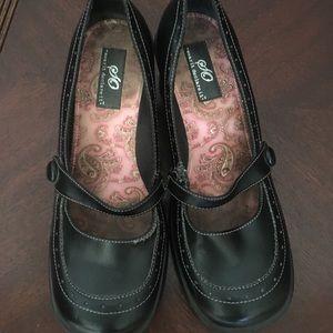 Shoes - Black wedges bought at Kohls