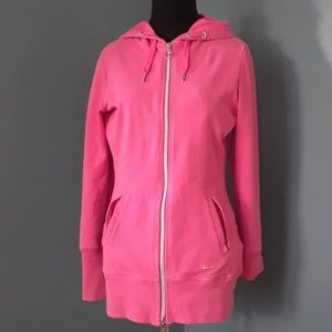 Women's cotton NIKE hoodie, fully zip up
