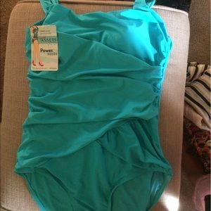 Assets By Spanx Other - BRAND NEW Spanx Assets Power Blue Bathing Suit