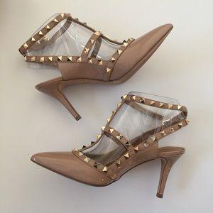 c51ebf532d6b Arturo Chiang Shoes - Arturo Chiang Gracen Pointy Studded Pumps