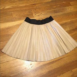 SALE! Zara leather skirt