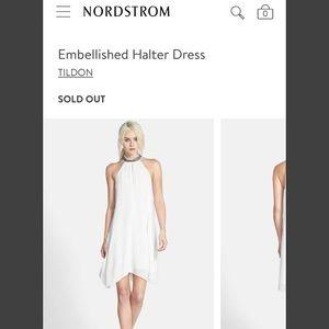 Tildon Dresses & Skirts - 🌱Tildon Embellished Halter Dress
