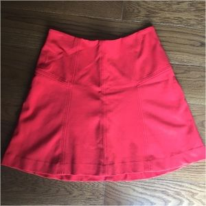 Ann Taylor LOFT red/orange skirt