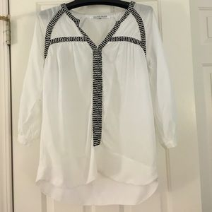 Collective Concepts Tops - White Collective Concepts blouse
