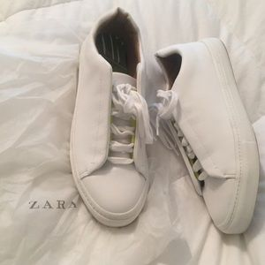 ZARA women's sneakers, size 41, worn once