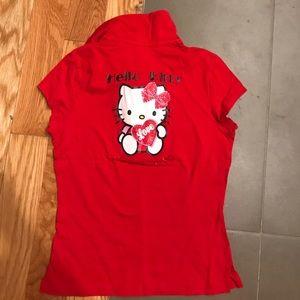 Ice Iceberg Tops - hello kitty t-shirt