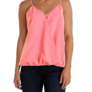 SALECooper & Ella Pink Crepe Sleeveless Top XS