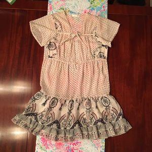 LF Millau Sheer dress polka dots small