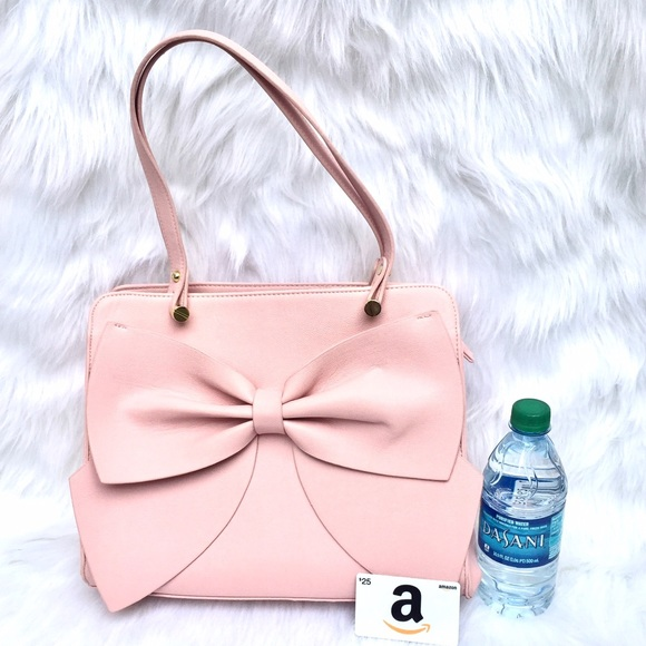 7% off Betsey Johnson Handbags - 🎀 BETSEY JOHNSON Bow Cute ...
