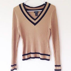 INC International Concepts Sweaters - INC International Concepts Varsity Sweater