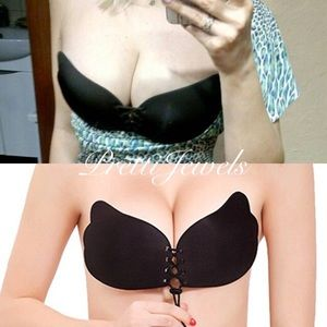 B cup Reuseable Adhesive Push Up Bra