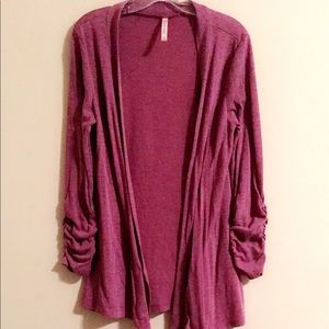 DNA couture Sweaters - Purple cardigan!