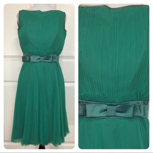 Vintage pleated dress