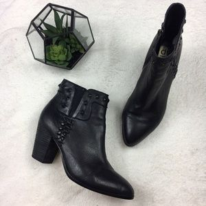 DV by Dolce Vita Shoes - Dolce Vita Studded Leather Ankle Boots