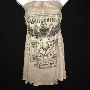 Salvage Dresses & Skirts - Medium Salvage Strapless Mini Dress / Top