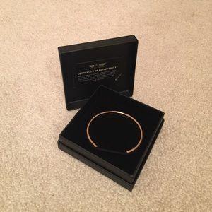 Ashley Bridget Jewelry - NWT Ashley Bridget ROSE GOLD hair tie bracelet