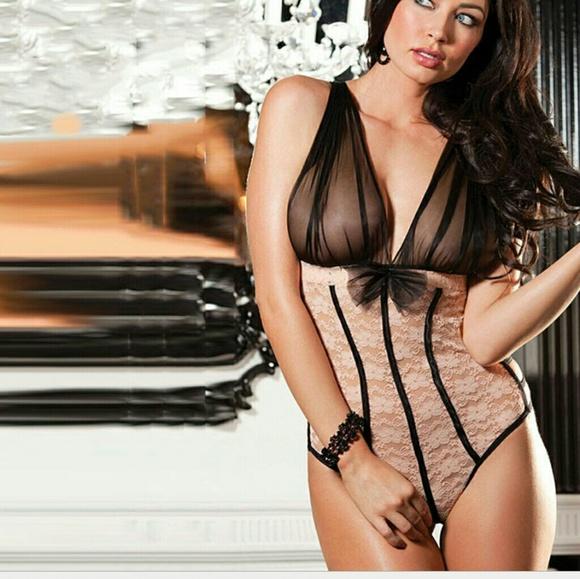 d9e79b8156d0 Sexy Lace Lingerie black and khaki color
