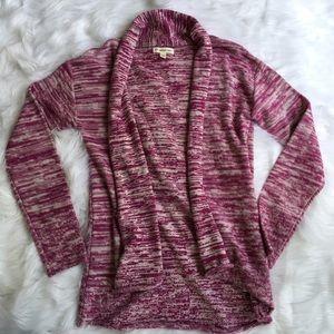 Tucker + Tate Other - Tucker + Tate Girls XL Pink Open Cardigan Sweater