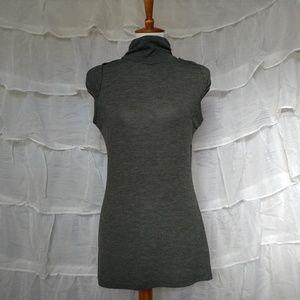 Lipstick Boutique Sweaters - Short Sleeve Turtleneck