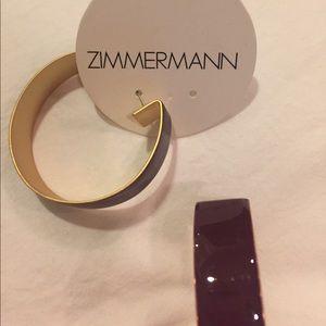 Zimmermann Jewelry - Zimmermann burgundy earrings