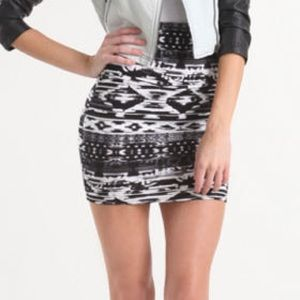 Nollie Dresses & Skirts - 2 FOR $10 ✨ Nollie Tribal Print Bodycon Skirt, S